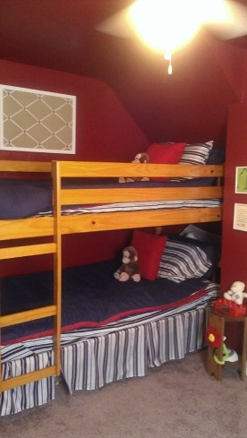 Bunk Beds... ready for two!