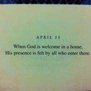 God is always welcome!