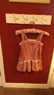 Something old... my dress when I was in firs grade!